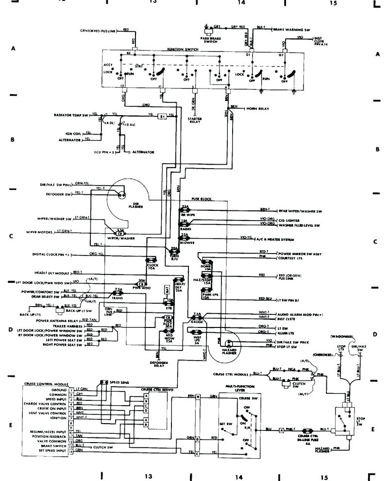 Jeep Wrangler Drawing At Free For Personal Use Yj Fuse Diagram 799x990 Wiring