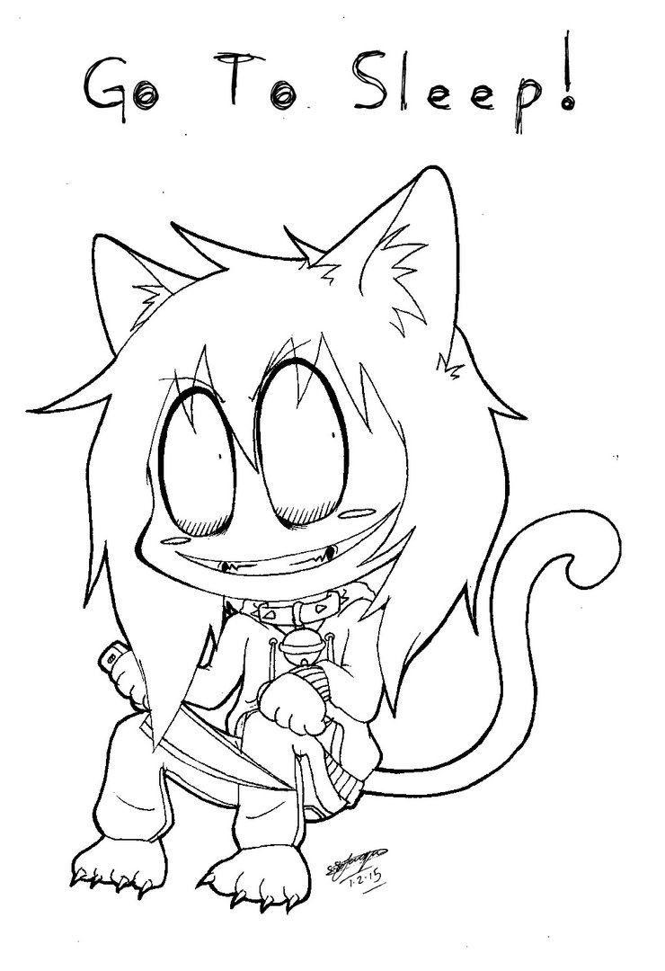 740x1080 Chibi Neko Jeff The Killer! 3 By Shannonxnaruto