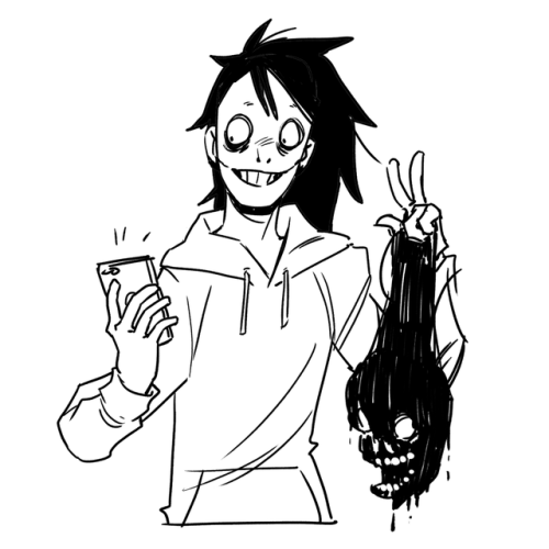 Jeff The Killer Drawing Cute at GetDrawings com | Free for personal