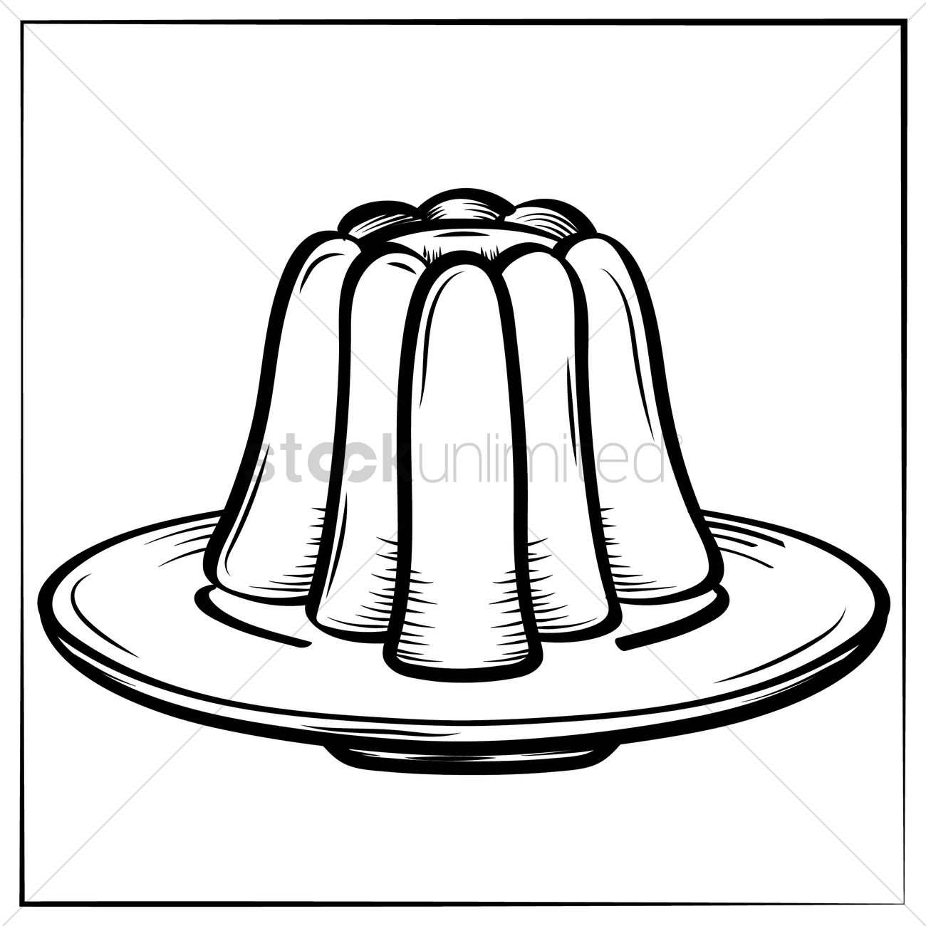 1300x1300 Jelly Vector Image
