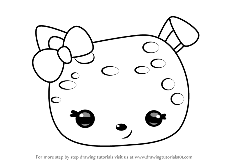 800x566 Learn How To Draw Confetti Jelly From Num Noms (Num Noms) Step By