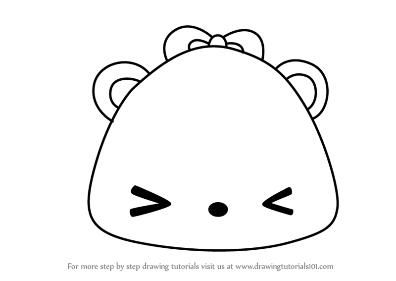 800x567 Learn How To Draw Mango Jelly Go Go From Num Noms (Num Noms) Step