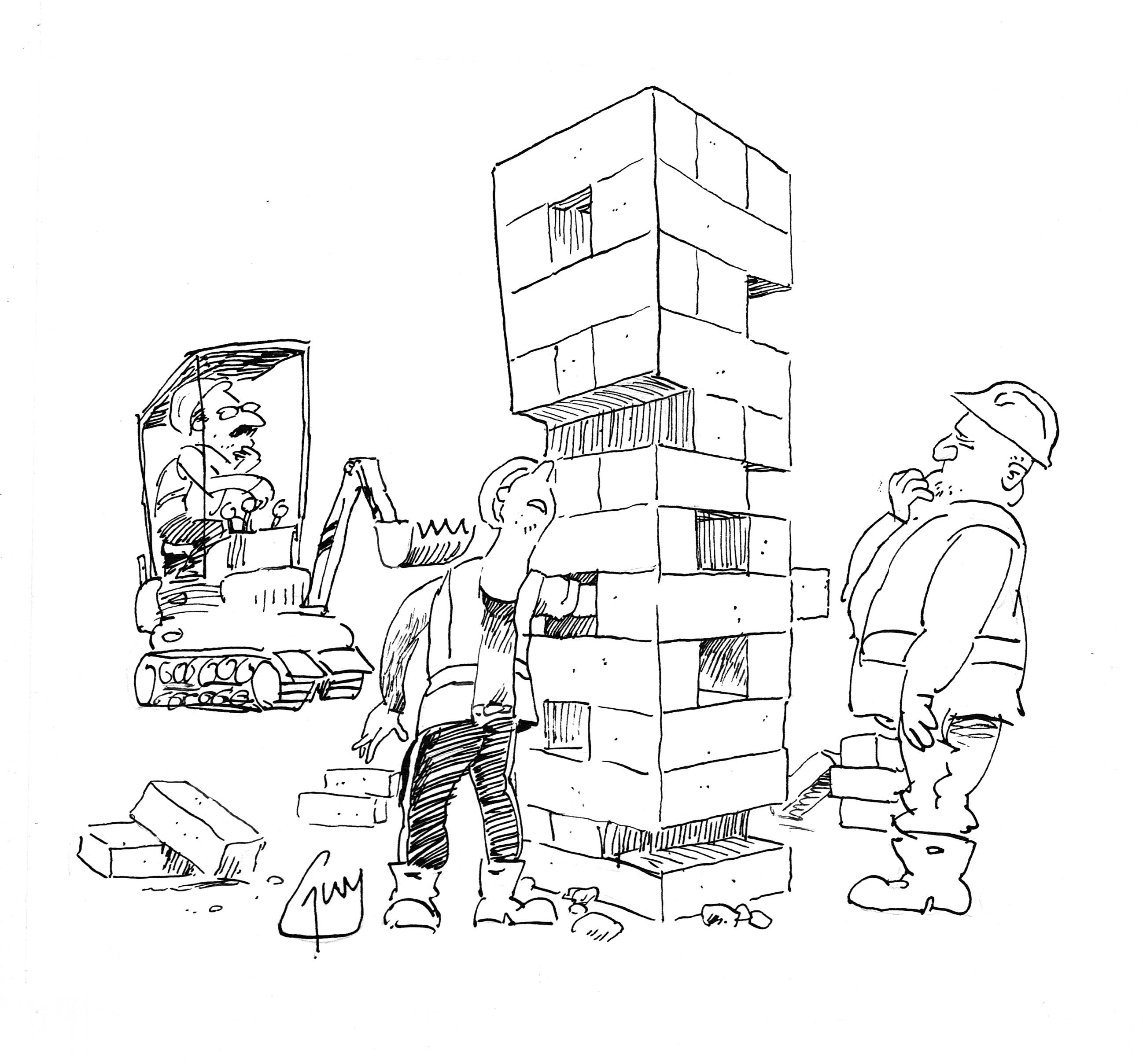 2596x2417 Cartoons Building Site Jenga Guys Cartoons