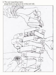 241x320 Jenga Metaphor For Military Expansion V. Ngai Illustration