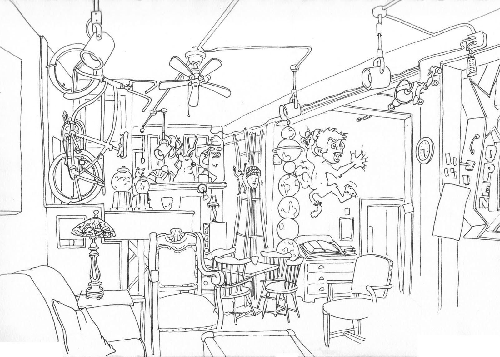 1600x1144 Urban Sketchers Seattle Bedlam Coffee, Belltown Seattle