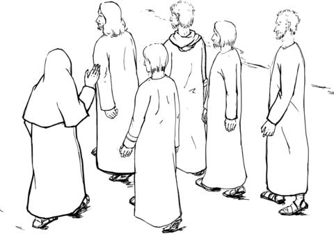 480x339 Jesus Leading The Way To Jerusalem Coloring Page Free Printable