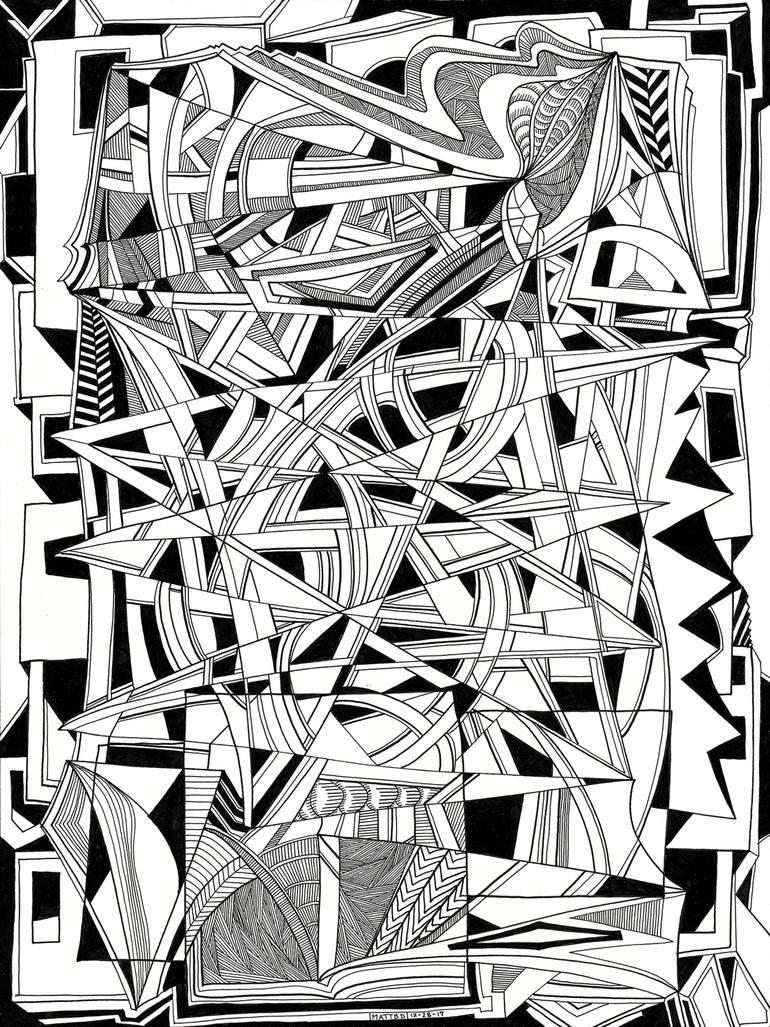 770x1027 Saatchi Art Jerusalem Drawing By Matthew Detroy