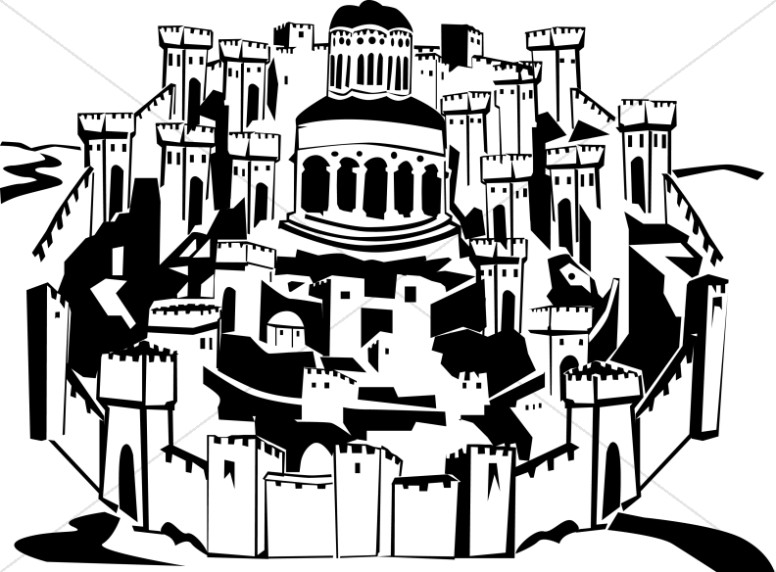 776x572 The Holy City Of Jerusalem New Testament Clipart