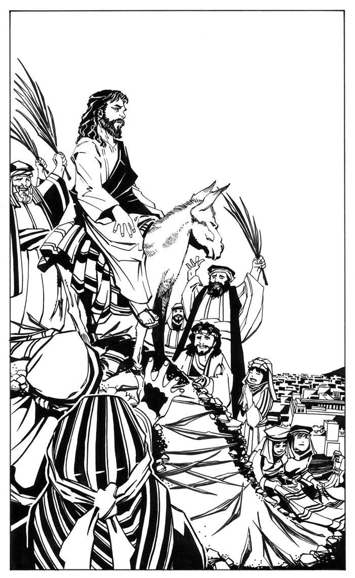 700x1141 Christ's Triumphal Entry Into Jerusalem By Scottmcdaniel