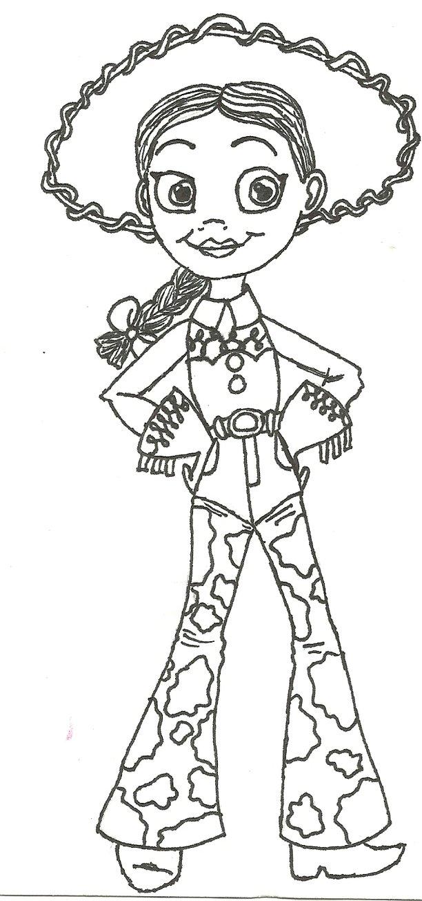 612x1304 Jessie From Toy Story By Dani Cali180
