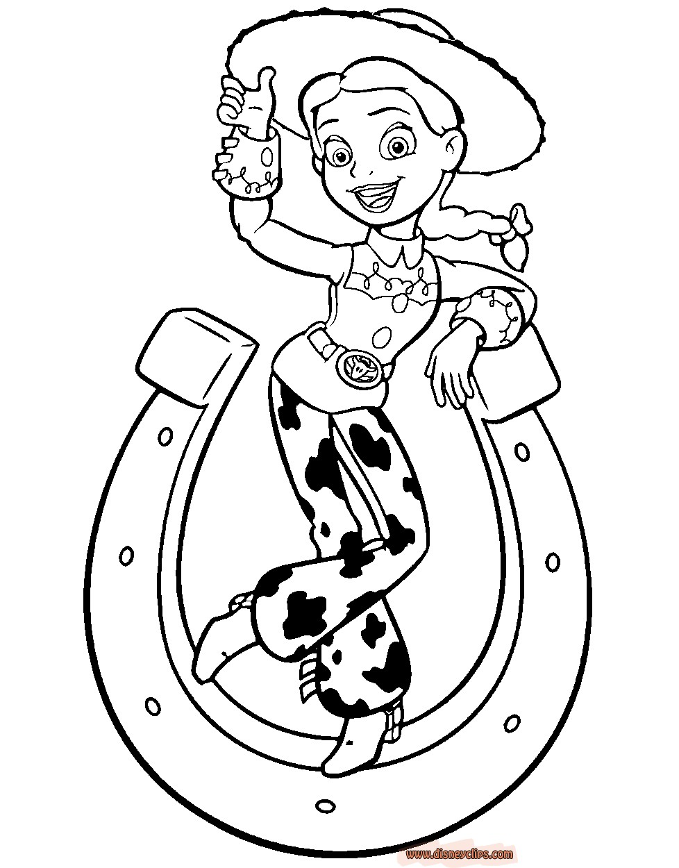 Jessie Toy Story Drawing at GetDrawings.com | Free for personal use