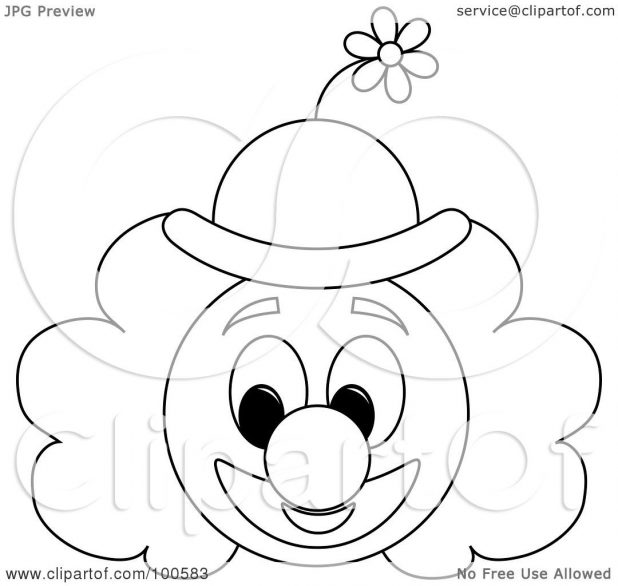618x586 Adult Clown Faces Draw Clown Faces Draw. Easy Clown Faces