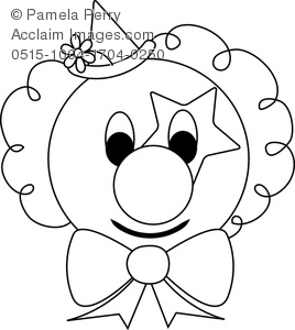 268x300 Clown Face Clipart Amp Stock Photography Acclaim Images