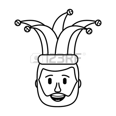 450x450 4,045 Jester Hat Cliparts, Stock Vector And Royalty Free Jester
