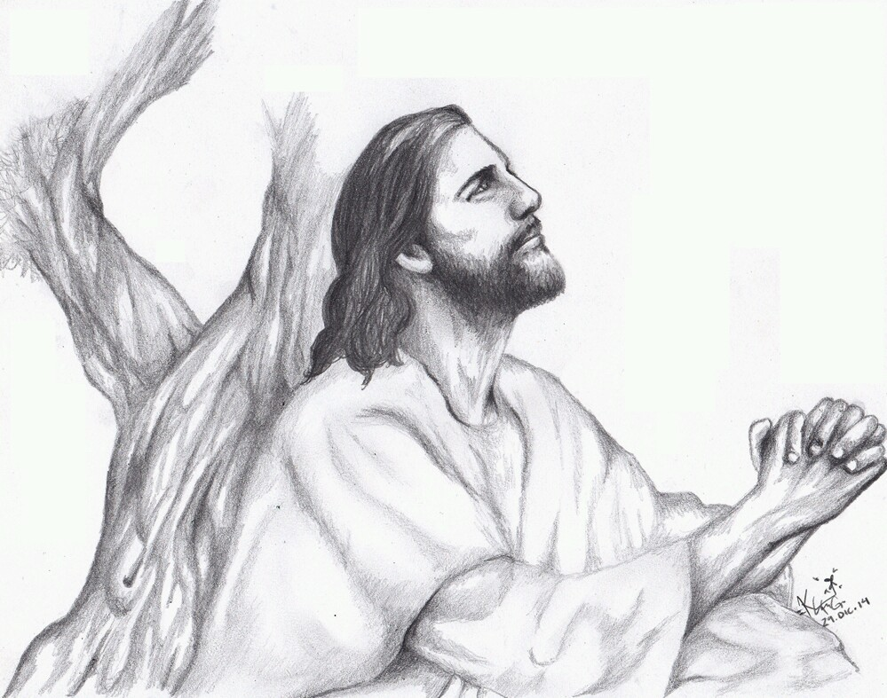 999x787 Jesus Christ Drawing ) Shared By Katy Guido On We Heart It