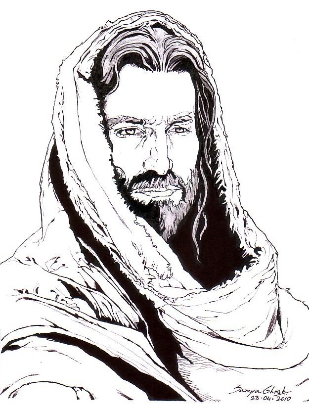 625x827 Jesus Christ By Samvinci