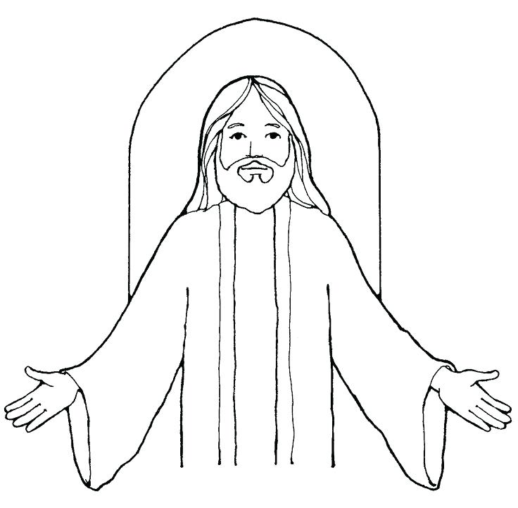 736x721 Clipart Of Jesus Clip Art Jesus Carrying The Cross Clipart