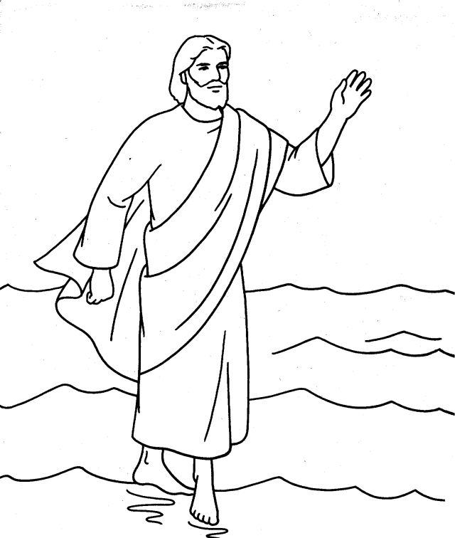 640x756 Coloring Pages Of Jesus