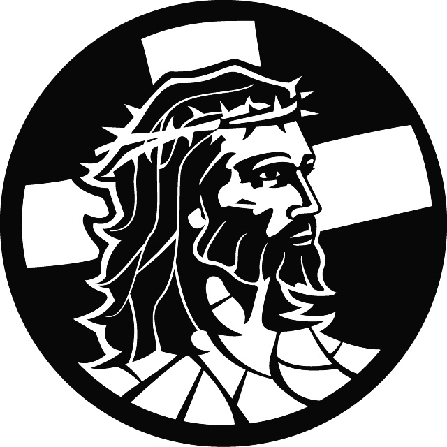 Jesus Christ Drawing Black And White At Getdrawings Com