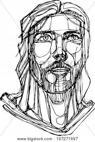 315x470 Jesus Face Images, Illustrations, Vectors