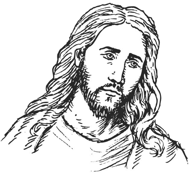 Line Drawing Of Jesus Face : Jesus christ face drawing at getdrawings free for