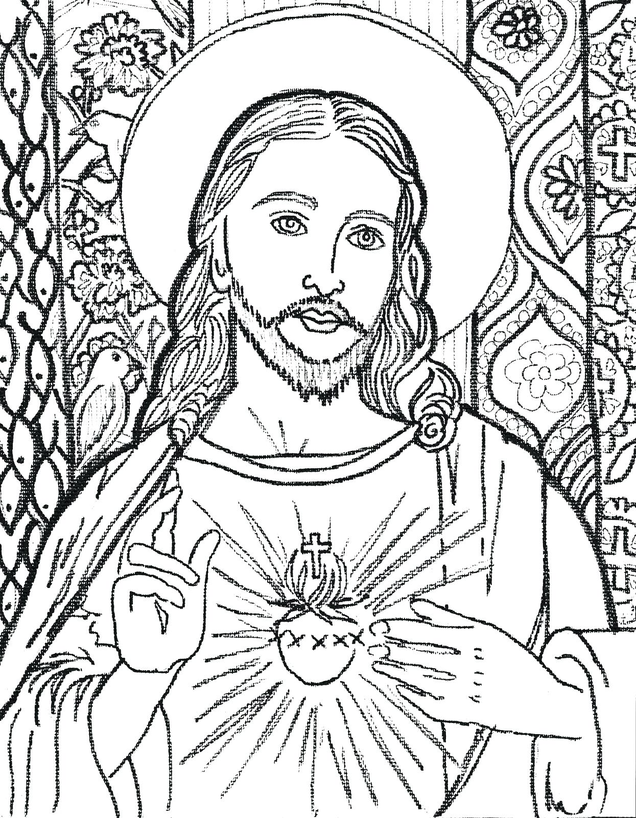 1245x1600 Coloring Jesus Christ Coloring Pages Printable Baptism. Jesus