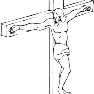 300x300 Good Friday Coloring Pages Crucifixion Of Jesus Christ Batch