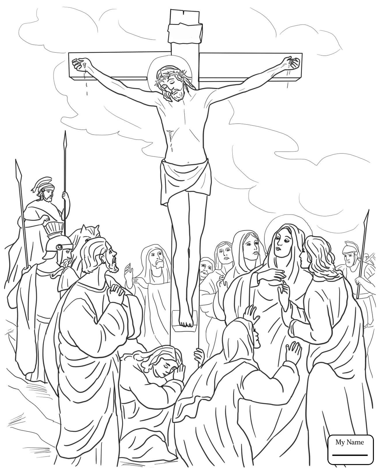 Jesus Christ On The Cross Drawing at GetDrawings.com | Free for ...