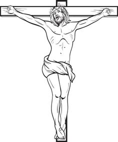 236x283 Jesus Christ On The Cross Drawings How To Draw Jesus
