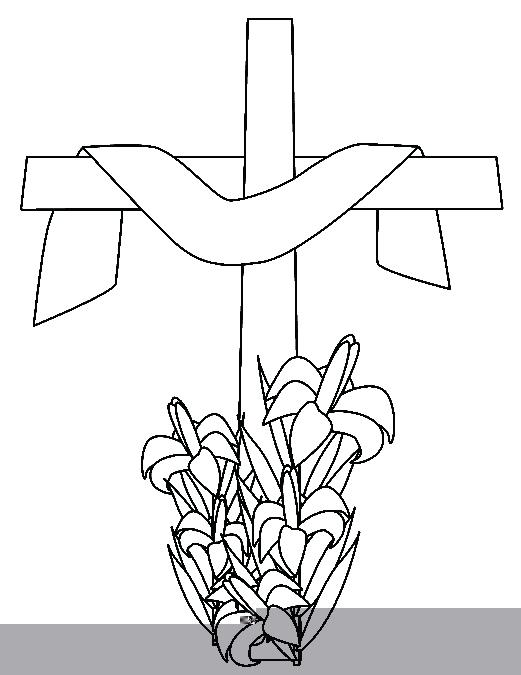 521x675 Coloring Pages Crosses Cross Drawings Coloring Pages Cross Jesus