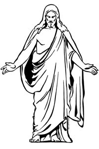 200x300 Drawing Clipart Jesus