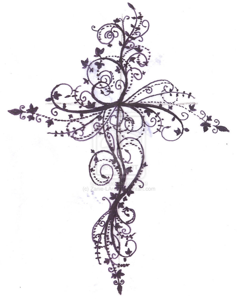 798x1002 Pain Is Love Jesus Cross Tattoo Design In 2017 Real Photo