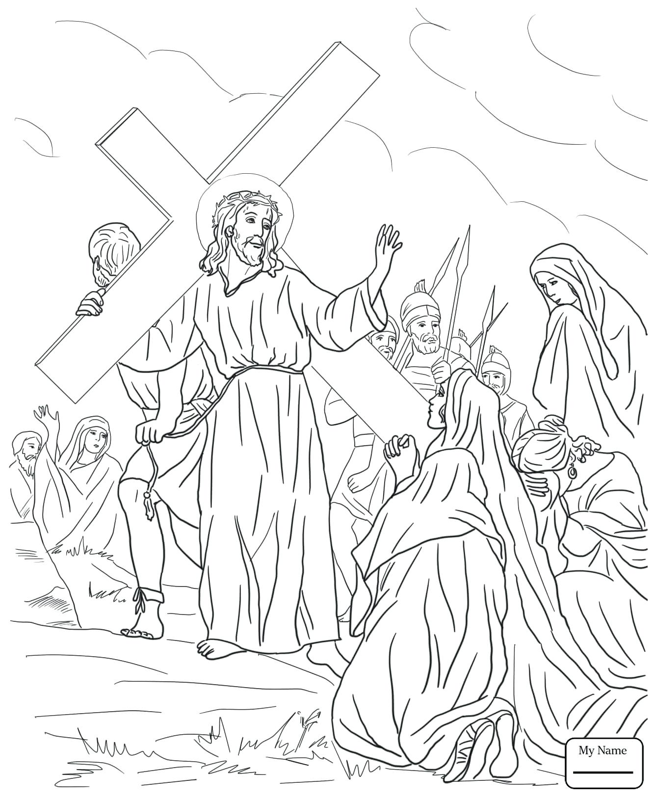 Contemporary Coloring Pages Jesus Crown Of Thorns Photos - Framing ...