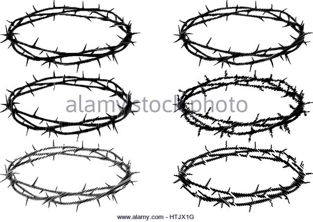 640x455 Crown Of Thorns Black And White Stock Photos Amp Images