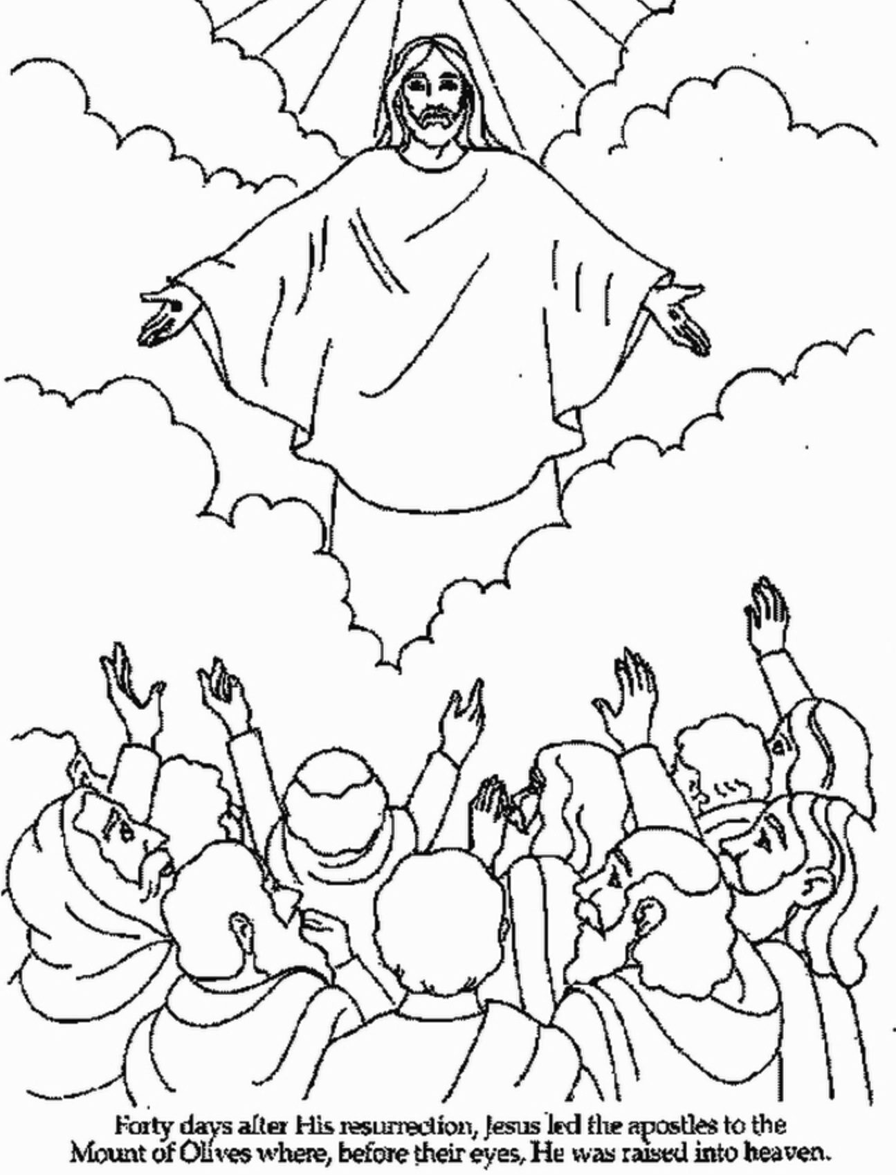 Jesus Drawing Easy