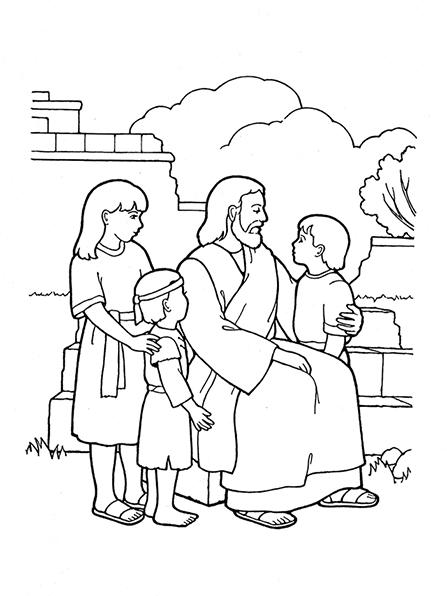 Jesus Drawing For Kids