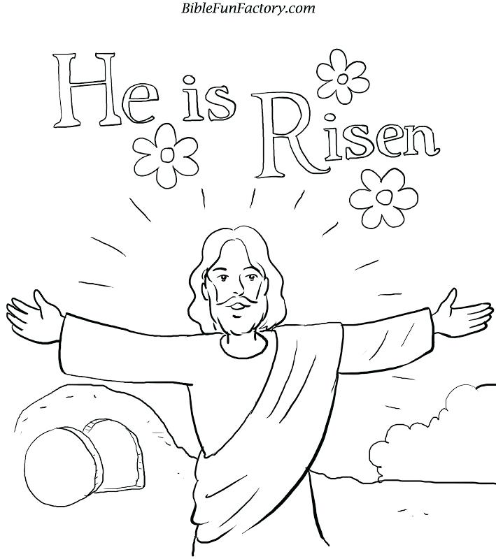 709x800 Christian Easter Coloring Pages 83 Plus Religious Coloring Sheets