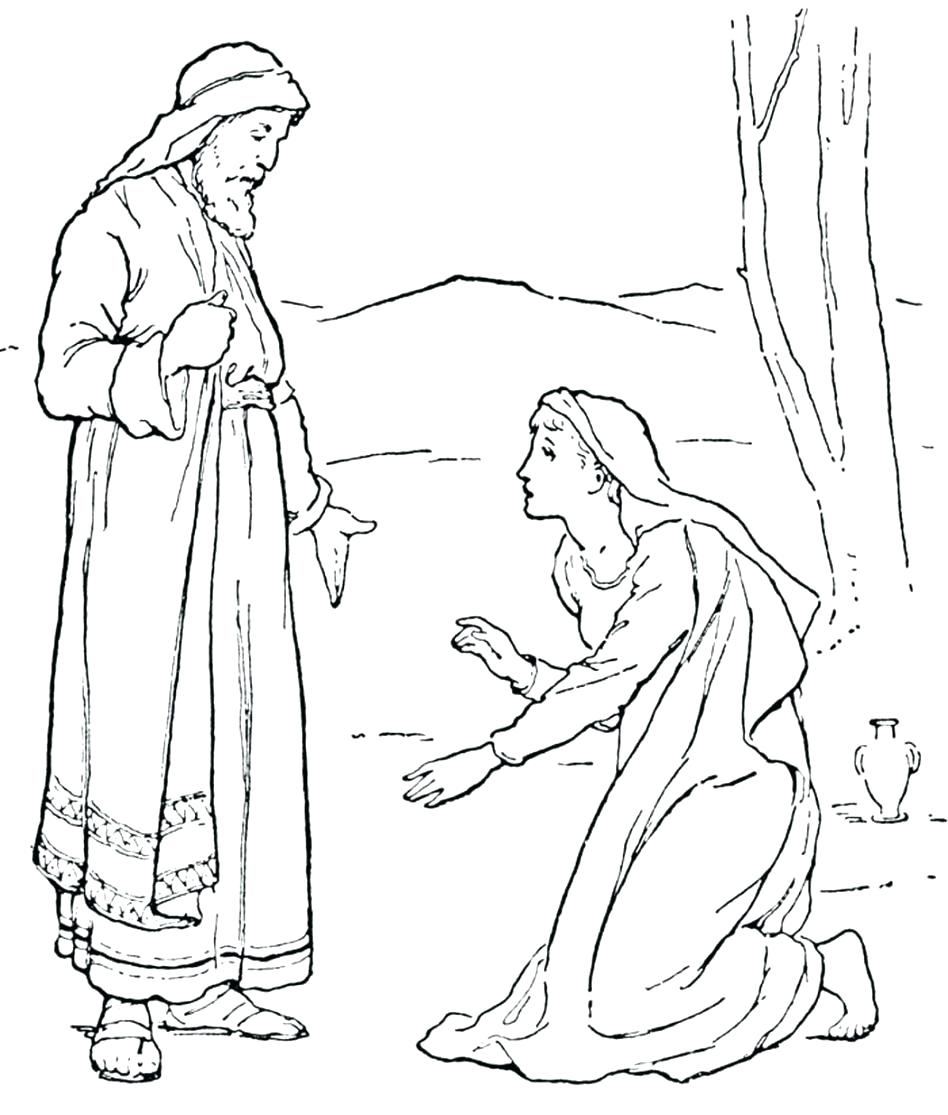 948x1115 Coloring Mary And Martha Coloring Page The Heaven Is For Real App