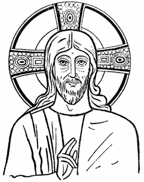 476x600 Jesus Drawing Transparent Png