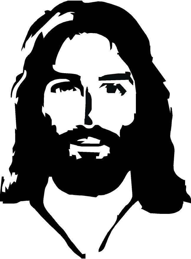 Line Drawing Of Jesus Face : Jesus face drawing at getdrawings free for personal