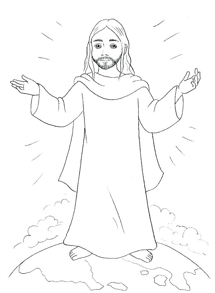 741x1008 Jesus Coloring Sheet Baby Coloring Sheet Together With Baby
