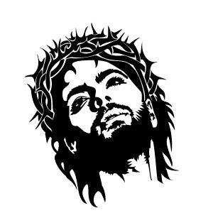 300x300 Jesus Christ Face Vector Jesus