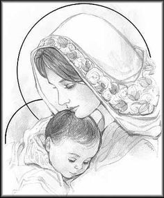 236x286 Printable Graphite Pencil Nativity Drawing Bibliographics