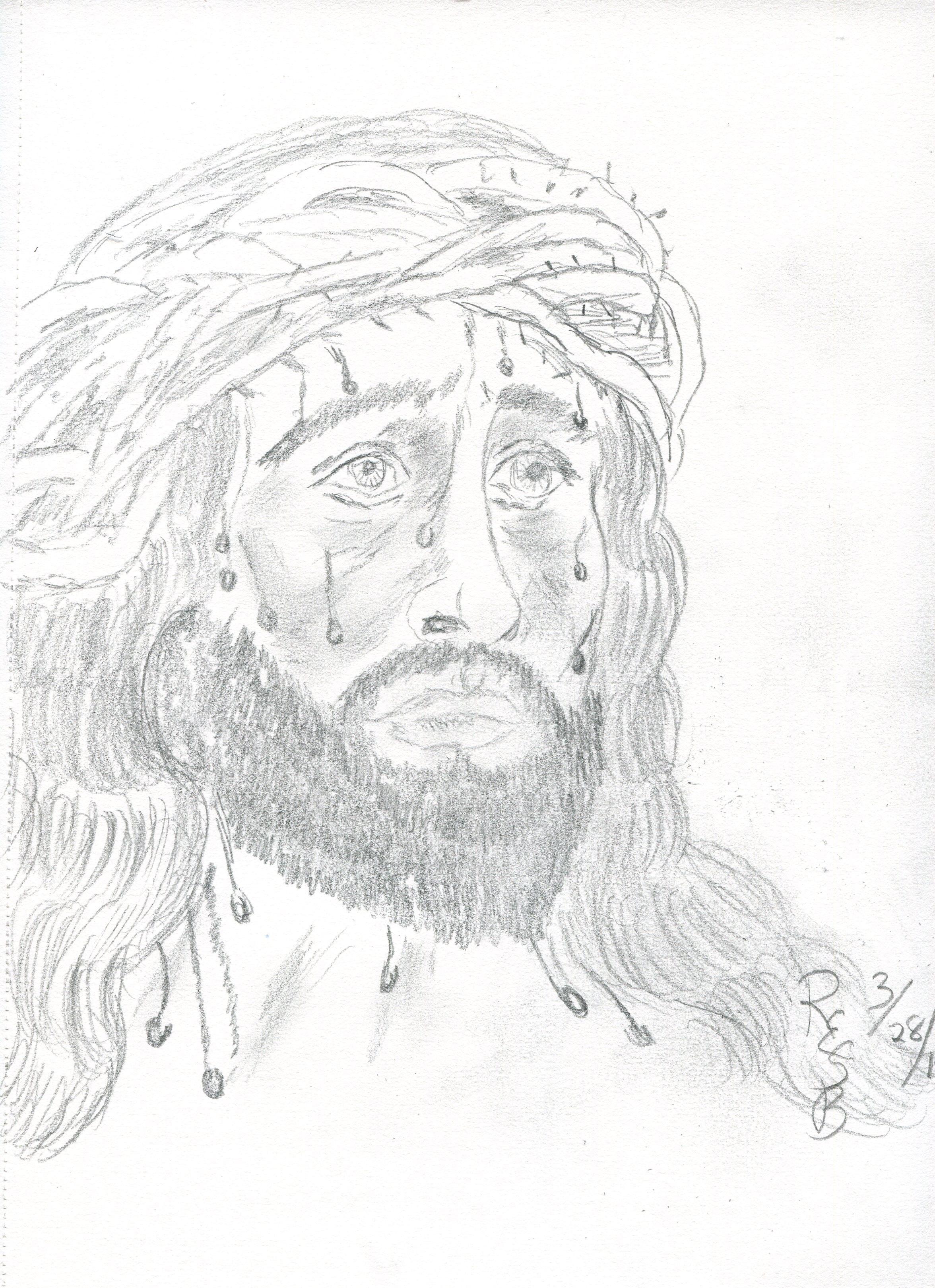 2352x3240 A Pencil Sketch March 28, 215 By Rhdda Ellen Stevens Bounds