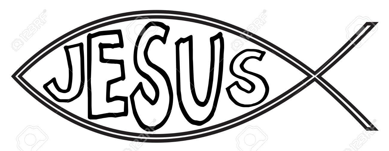 Jesus Fish Drawing At Getdrawings Free For Personal Use Jesus