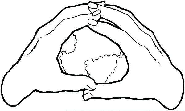 Jesus Hands Drawing at GetDrawings | Free download