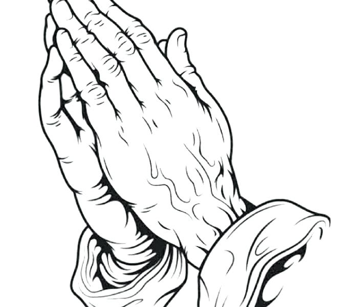 678x600 Praying Hands Coloring Page And Perfect Praying Hands Coloring