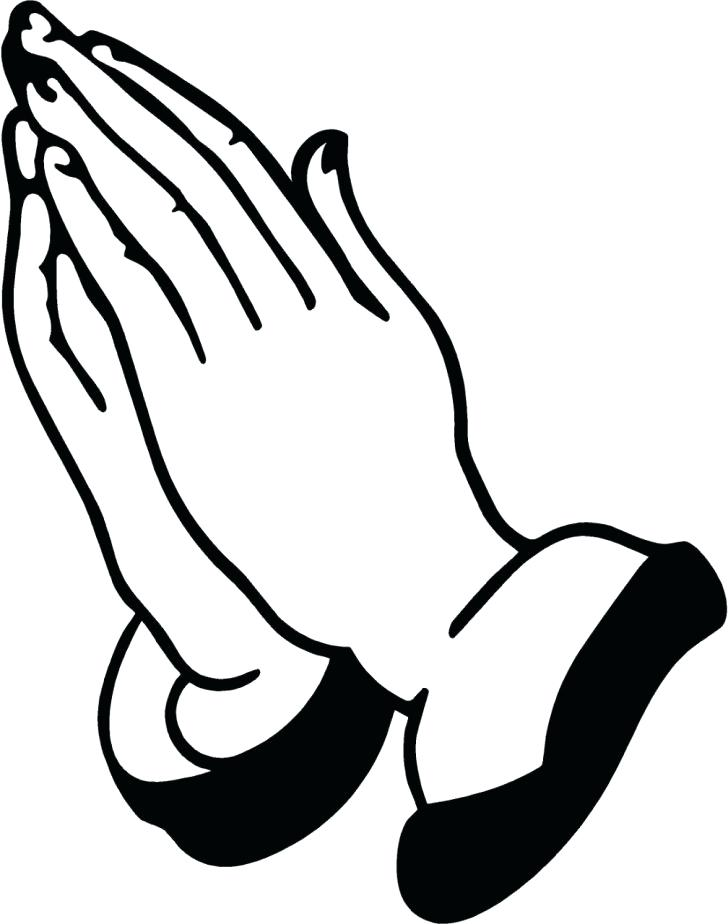 728x924 Praying Hands Coloring Page Coloring Pages Of Praying Hands