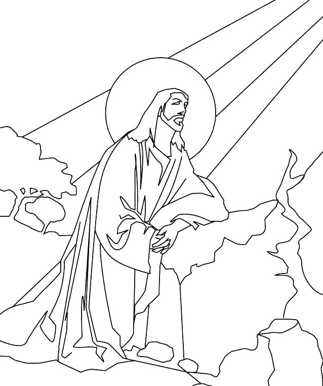 Jesus Line Drawing at GetDrawings.com | Free for personal ...