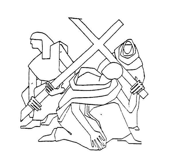 Jesus On Cross Drawing